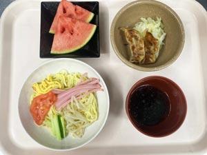 フォーライフ桃郷 イベント食「冷やし中華」